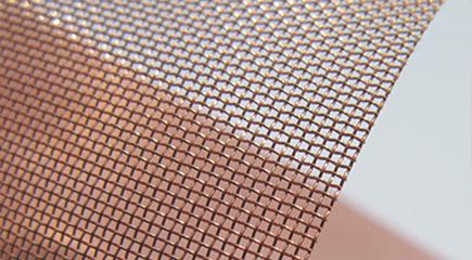 紫铜网丝径目数展示-浩通网业