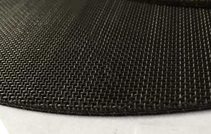 平纹编织铁丝网过滤网片细节-浩通网业