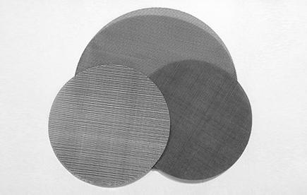 圆形黑丝布塑料颗粒过滤网-浩通网业